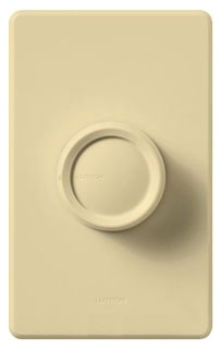 D-603P-IV IVORY 3-WAY 600W PUSH ON/OFF INCANDESCENT DIMMER