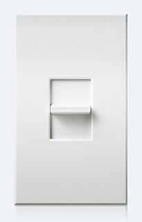 NT-1000-WH LUTRON 1000W WHITE SINGLE POLE SLIDE DIMMER