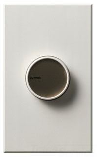 C-600-WH  LUTRON 600 WATT WHITE DIMMER WITH FINS