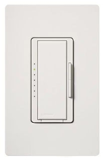 MA-1000-WH  1000W WHITE SINGLE POLE/MULTI-LOCATION PRESET SMART DIMMER