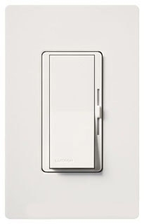 DVF-103P-WH  WHITE 1 POLE/3 WAY FLUORESCENT DIMMER 120V