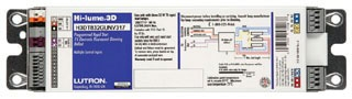(LUTRON) H3DT832GU210 HI-LUME 3D T8 32W 2 LAMP G CAN 1.0 BALLAST FACTOR