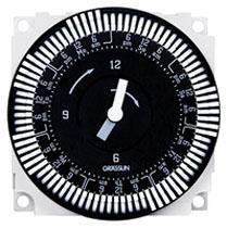 FM1SWUZ-120U 7-DAY ELECTROMECHANICAL TIMER MODULE, 21A, SPDT