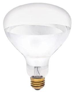 WEST 0348400 250R40/HT/EZ 250 Clr HeatLamp R40 Infared Heat Lamp (Non-Stick Base)