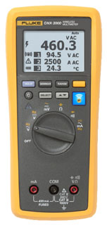 flk FLK-CNX-3000GM FLUKE CNX 3000 GENERAL MAINTENANCE SYSTEM INCLUDES MULTIMETERIFLEX CLAMP MODULEAC VOLTAGE MODULE AND ACCESSORIES.