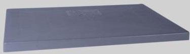 """4903090 18X38 3"""" GREY PLASTIC A/C CONDENSER PAD"""