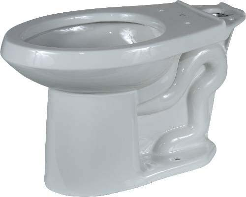 Floor Mount Elongated Toilet Bowl - Viper, White, 1.6 Gpf/6.0 Lpf