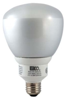 SP15/R30/65K 15W 120V 6500K BR30 MEDIUM SCREW BASE (CFL) COMPACT FLUORESCENT FLOOD LAMP