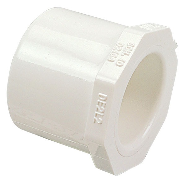 "1-1/4"" X 3/4"" PVC Concentric Octagon Bushing"