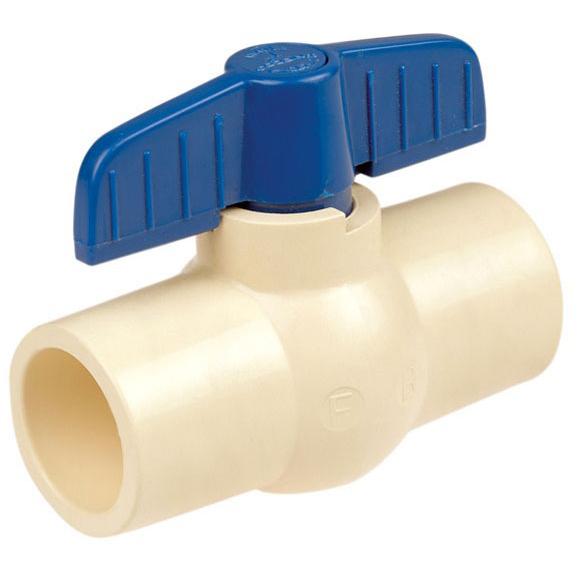 "3/4"" Socket Ball Valve, CPVC"