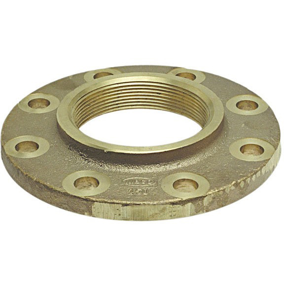 "2-1/2"" Cast Bronze Alloy Companion Flange - FPT, 150 psi"