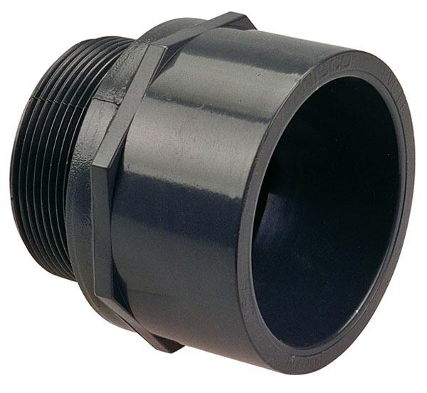 "2-1/2"" PVC Male Adapter"