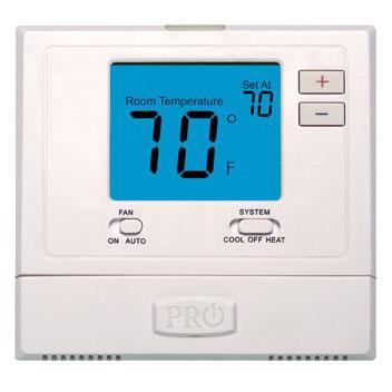 "Manual 1H/1C 4"" Digital Thermostat"