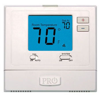 "Manual 1H or 1C 4"" Digital Thermostat"