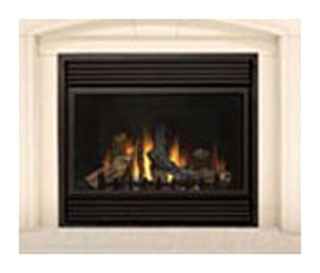 CB36NTR CONTINENTAL N/G DIRECT VENT FIREPLACE. (OLD NUMBER BCDV36NTR)