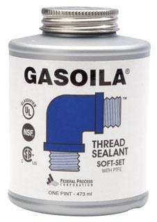 SS04 1/4 PT GASOILA SOFT-SET PIPE DOPE W/ TEFLON