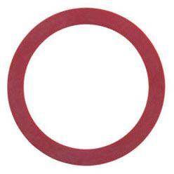 Single Flush Toilet Seal, Red