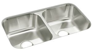 """McAllister, SilentShield Undermount Kitchen Sink, Stainless Steel 32"""" X 18"""" X 8-9/16"""""""