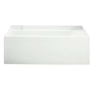 "60"" x 32"" Alcove Bathtub - Accord, White"