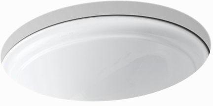 "Devonshire Undermount Bathroom Sink, Vitreous China 16-7/8"" X 13-11/16"" White"