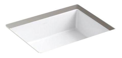 "Verticyl Undermount Bathroom Sink, Vitreous China 19-13/16"" X 15-5/8"" White"