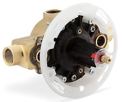 HiFlow, Rite-Temp Threaded Tub and Shower Pressure Balancing Valve, Brass