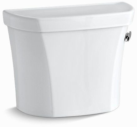 Wellworth Right Hand Flush Toilet Tank, Vitreous China 1.28 GPF White