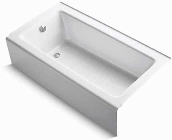 "60"" x 32"" Alcove Bathtub - Bellwether, White"
