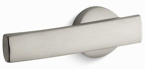 Wellworth, Highline Left Hand Toilet Tank Trip Lever, Vibrant Brushed Nickel