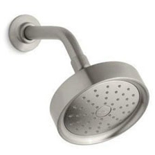 Purist 1-Function Round Showerhead, Vibrant Brushed Nickel