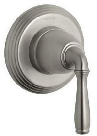 Devonshire Lever Faucet Transfer Valve Trim, Vibrant Brushed Nickel