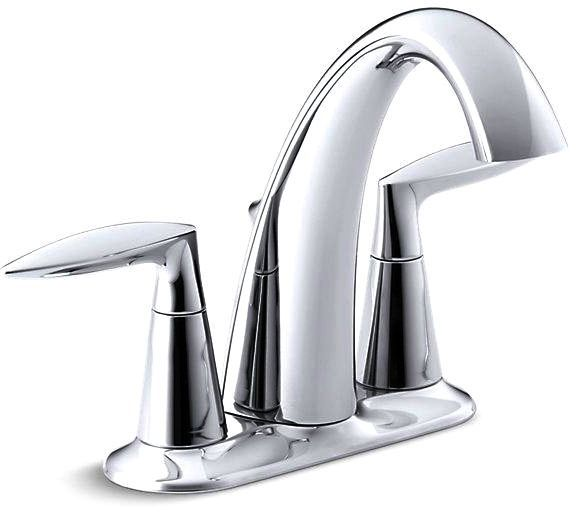 Alteo Centerset Lavatory Faucet Polished Chrome