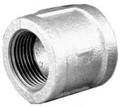 Lead-Free Malleable Iron Banded Straight Coupling