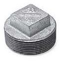 "3/8"" Galvanized Malleable Iron Square Head Plug"