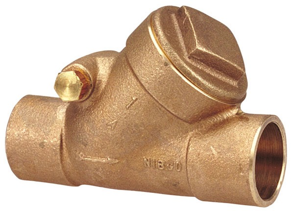 "3"" S-433-Y Soldered Check Valve, Bronze"