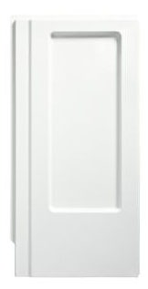 "Advantage Modular/Corner Shower Enclosure End Wall Set, Solid Vikrell 34"" x 66-1/4"" White/Swirl-Gloss"