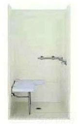Modular/Corner Shower Enclosure End Wall Set, Solid Vikrell