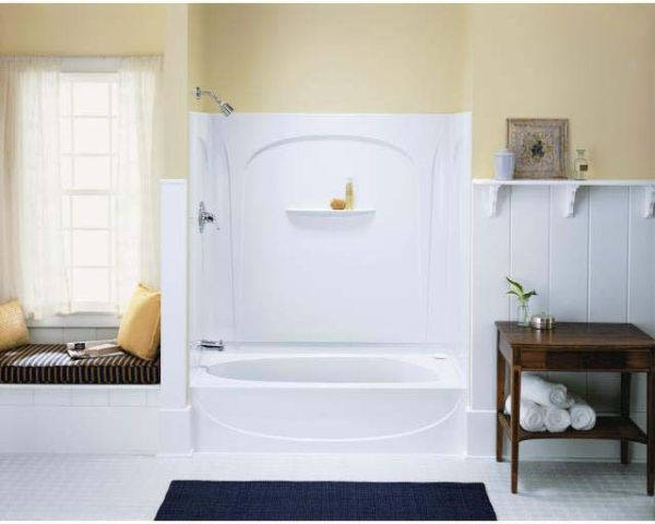 "60"" x 30"" Alcove Bathtub - Acclaim, White"