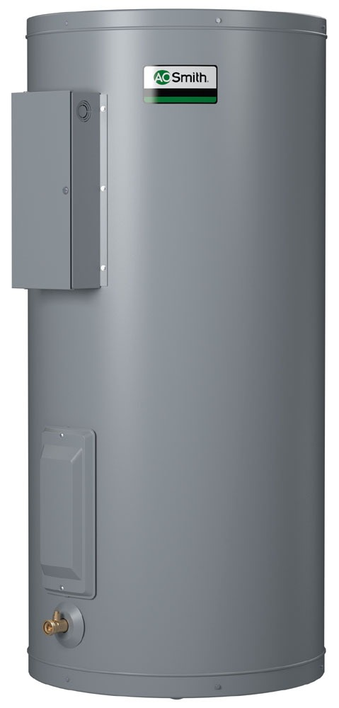 40 Gallon Tall Commercial Electric Water Heater - Dura-Power, 6kW, 240 Volt 1/3 Phase 60 Hertz