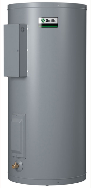 20 Gallon Compact Commercial Electric Water Heater - Dura-Power, 6kW, 208 Volt 1 Phase 60 Hertz