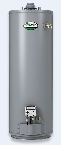 50 Gallon Tall Natural Gas Residential Water Heater - ProLine Atmospheric Vent, 40000 BTU
