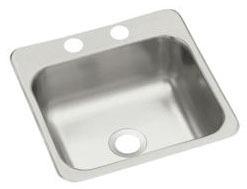 "15 X 15"" SilentShield Stud Mount Entertainment Sink, Stainless Steel"