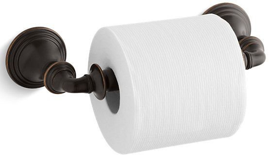Devonshire Single Roll Toilet Tissue Holder, Oil Rubbed Bronze