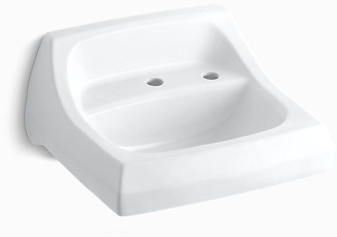 Kingston 21X18 Lavatory White