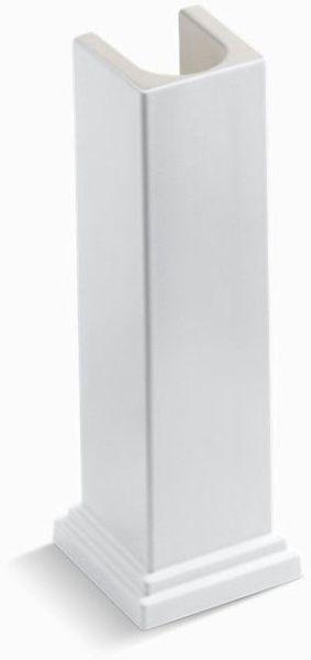 Tresham Bathroom Sink Pedestal, Fireclay