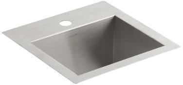 Vault Drop-In/Undermount Bar Sink, Stainless Steel