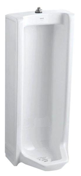Branham Washout Stall Urinal, Vitreous China 0.5/1 GPF White