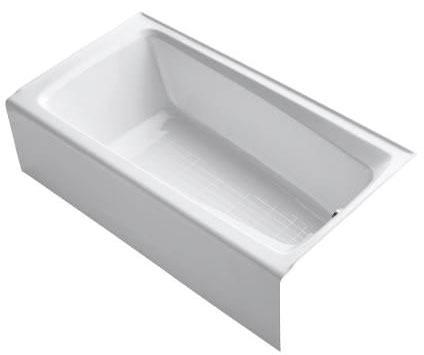Mendota 5' Bath Right Outlet White