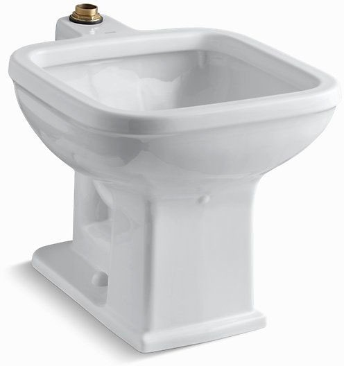 "Tyrrell Floor Mount Service Sink, Vitreous China 21"" X 27-1/8"" White"