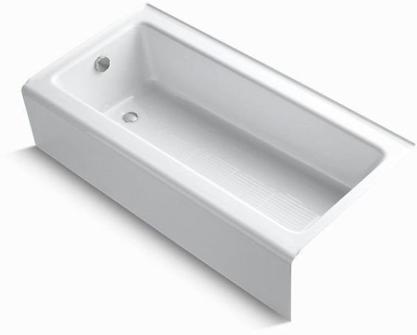 "60"" x 30"" Alcove Bathtub - Bellwether, White"